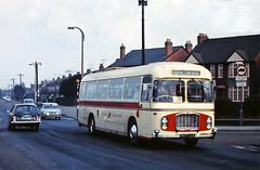865 UAE. (curly42) Tags: 865uae bristolgreyhound2119 coach buses transport bristolrelh6g ecw roadtransport bristolomnibus bristolgreyhound cheltenhamroad westernnational battersbyscoachhire northcornwallcars