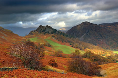 Castle Crag #1 (PJ Swan) Tags: autumn fall colours lake district borrowdale england great britain united kingdom cumbria beautyofbritain castle crag bracken