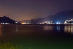 Lake Maggiore at Night (Bephep2010) Tags: 2018 7markiii alpen alpha ascona berg langzeitbelichtung nacht piazzaguiseppemotta sel28f20 schweiz sommer sony stars sterne switzerland tessin ticino uferpromenade alps lakesidepromenade longexposure mountain night summer ⍺7iii ch