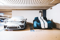 Porsche vs. Cobra (FOXTROT|ROMEO (#collectingmmnts)) Tags: porsche gt2 gt3 rs carrera 911 991 cobra shelby ford car cars auto racecar supercar luxury monaca montecarlo garage
