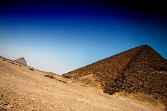The Red Pyramid & The Bent Pyramid, Egypt (El-Branden Brazil) Tags: egypt egyptian pyramid saqqara mysterious ancient sacred