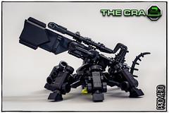 Blacktron CRAB (side view) (Priovit70) Tags: lego blacktron robot crab olympuspenepl7