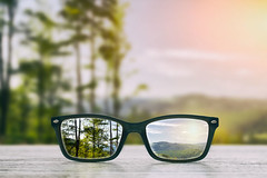 Its All About Perspective! (Robert McLeroy) Tags: glasses focus background wooden eye vision lens nature reflection look looking through see eyeglasses clear sight ophthalmology hipster help view optician blurred glass nearsighted sharp low optometry correction eyesight forest farsightedness health blind amblyopia have perspective lenses diopters by farsighted different sightedness modern nearsightedness watch handicapped improve refractive optometrist
