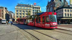 Commercial break 2 (Peter ( phonepics only) Eijkman) Tags: amsterdam city combino gvb tram advertise advertising reclame transport trams tramtracks trolley rail rails strassenbahn streetcars nederland netherlands nederlandse noordholland holland