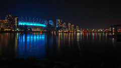 radical dreamers (the snow bunny) Tags: bcplace vancouver vancity 604 vancouverisawesome sonya6000 night longexposure