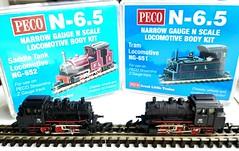 N narrow gauge fun! (penske666) Tags: nn3 n65 nm narrowgauge gauge ngauge peco ng651 ng652 marklin zgauge