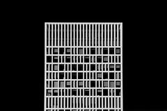Eurojust (Jan van der Wolf) Tags: map190268vvv architecture architectuur eurojust denhaag building gebouw facade gevel blackandwhite bw lines lijnen lijnenspel interplayoflines playoflines zwartwit