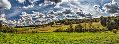 8R9A3111-21Ptzl1TBbLGERk (ultravivid imaging) Tags: ultravividimaging ultra vivid imaging ultravivid colorful canon canon5dm3 clouds fields farm field trees scenic partlycloudy rural pennsylvania pa panoramic landscape autumn vista autumncolors lateafternoon