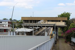 Doomben Station, Brisbane (philip.mallis) Tags: brisbane doomben doombenrailwaystation trainstation railwaystation building queenslandrail stationbuilding hamilton