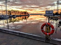 Golden Sunrise Over The Giant (f/ames) Tags: sunrise golden sleepinggiant thunderbay canada ontario lakesuperior googlepixel2 cellphone amazing