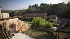 morimondo (paolopalmaflick) Tags: lombardia panorama landscape italy view morimondo