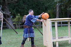 GG&G Carillion SCA 10-13-18-57 (Philip H Levy) Tags: sca knight battle tournament swordfighting throwingax middleages medieval darkages renaissance ax spear sword polearm armor fight fighting martialarts eastkingdom kingdom carillion reenactor