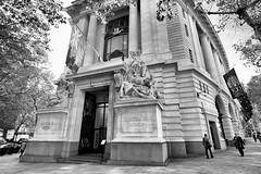 Australia House (MKHardyPhotography) Tags: london australia street mkhardy blackandwhite