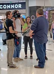 Interview (Michael Jefferies) Tags: australia queensland toowoomba interview grandcentral water iphonex