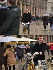 [La Mia Città][Pedala] (Urca) Tags: milano italia 2018 bicicletta pedalare ciclista ritrattostradale portrait dittico bike bicycle nikondigitale scéta 11599