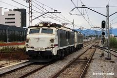 Japanese power XI (Trenesmania) Tags: tren trenes train trains rail railway railroad ferrocarril bahn eisenbahn renfe mercancias 251 251013 251014 mitsubishi japonesa locomotora via mollet santfost portbou barcelona cantunis