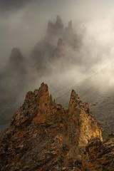 L'Alcazar des Brumes (DBPhotographe) Tags: summit peak french alps queyras izoard casse déserte mountain fog mist