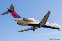Delta 717 (galenburrows) Tags: aviation aircraft airplane boeing mcdonnelldouglas md95 717 delta cyyz yyz toronto flight flying