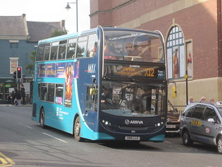 Arriva North East 7556 (SN15 LLG). Eldon Square Bus Station, Newcastle