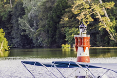 the small lighthouse at the castle pond (a7m2) Tags: modell lighthouse castlepond laxenburg austria loweraustria mödling natur park wandern spazieren jogging fauna flora