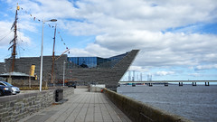 V&A Dundee from the Bank of  the River Tay (Joe Son of the Rock) Tags: ef1740mmf4lusm dundee va museum river bridge rivertay tayroadbridge