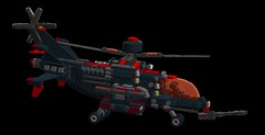 N.O.D n7 tornado VTOL (V2) (demitriusgaouette9991) Tags: vtol lego powerful whitebackground cockpit helicopter deadly future lasers sky flying aircraft