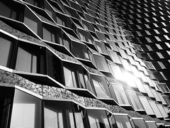 Texturas // París, FR - 7/8/18 (angie.diiorio) Tags: pattern building bw france paris texture glass architecture