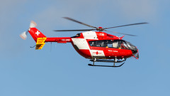 Eurocopter MBB-BK 117 C-2 HB-ZRD REGA Swiss Air Ambulance (William Musculus) Tags: airport spotting basel mulhouse freiburg euroairport flughafen eap bsl mlh lfsb eurocopter mbbbk 117 c2 hbzrd rega swiss air ambulance ec145