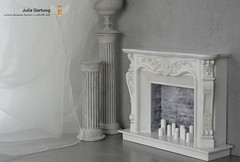FS Classic Fireplace 1: 6 (JuliaGart) Tags: fireplace scale 16 julia gartung order furniture for doll fr