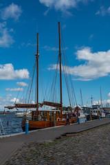 Im Hafen von Barth (berndtolksdorf1) Tags: deutschland mecklenburgvorpommern barth ostsee segelschiff hafen outdoor himmel sky