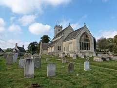 Swinbrook - St Mary's Church (Glass Angel) Tags: swinbrook stmaryschurch oxfordshire