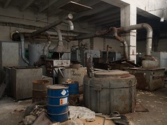 Chemical workshop (LopazV) Tags: urbex abandoned urbanexploration machine urban decay industrial industrialdecay