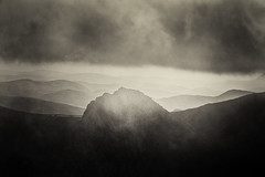Above it All (gerainte1) Tags: tryfan snowdonia wales mountains blackandwhite