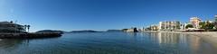 Coast of Toulon (sander_sloots) Tags: var toulon beach coast strand kust frankrijk france sea middellandsezee zee water pano panorama picture lido