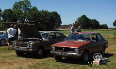 1976 Toyota Corolla / 1977 Toyota Corona Mark II (rvandermaar) Tags: 1976 toyota corolla 1200 de luxe toyotacorolla ke30 e30 30 e3 1977 corona mark ii toyotacorona toyotamarkii 58md56 sidecode3 import 23yd28 rvdm