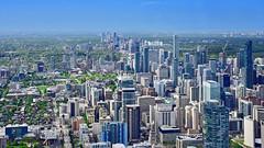 Toronto (R.A. Killmer) Tags: yonge street toronto canada ontario cn tower nikon d750 skyline cityscape city view metropolis sky skyscraper travel