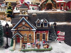 Christmas village for sale at Michaels (carpingdiem) Tags: christmas michaels decorations indianapolis