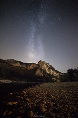 Gorges d'Ardèche (Sergent63) Tags: 5dmark 2 good night milky way nice camping hot