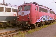 DB 140820-2 (bobbyblack51) Tags: db class 140 siemens krauss maffei bobo electric locomotive 1408202 bw hamm 2001
