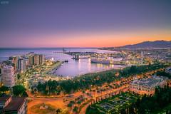 Malaga Night (-COULD 2.0) Tags: ngc sony sonya7 fe28mmf2 malaga panoramica pano andalucia gibralfaro