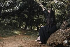 Photo by Fernando Lopes (AmandaSaldanha) Tags: portrait retrato portraiture nature natureza woman mulher ensaio book medieval witch bruxa