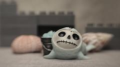 Furry Bones Baby Seal (N.the.Kudzu) Tags: tabletop stilllife resin figurine babyseal canondslr lensbabysol45 lightroom