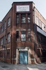 FX306468-1 (Lawrence Holmes.) Tags: fuji x30 ancoats ragtrade redbrick sign advert manchester uk lawrenceholmes