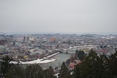 Yokote City (From the observatory of the castle) (しまむー) Tags: pentax k30 smc a 28mm f28 miyabi 雅 trip train yokote 横手