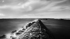 A dreamy seascape (Cajofavi) Tags: fs180923 drommar drömmar dreams fotosondag sea sky pir pier storarör öland sweden nd