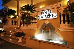 Hotel Novecento a Riccione (Andrea Speziali) Tags: hotelriccione novecento hotelnovecentoriccione traveller viaggi hotelariccione riccione