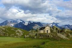 Chiesa della Madonna della Pace (Freyja H.) Tags: italy lombardy valmalenco alpeprabello chapel chiesa chiesetta alpe montedisgrazia mountain alps 1919 wwi