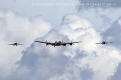 6258 BBMF Lancaster Spitfire MK356 Hurricane PZ865 Andy P (photozone72) Tags: aviation airshows aircraft airshow canon canon7dmk2 canon100400f4556lii 7dmk2 warbirds wwii raf bbmf lancaster rafbbmf spitfire hurricane pz865 mk356 duxford iwmduxford