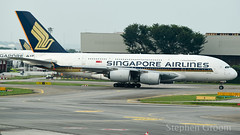 Singapore Airlines Airbus A380-841 9V-SKK (StephenG88) Tags: singaporechangiairport singapore changi sin wsss terminal1 viewingmall boeing airbus 13918 91318 singaporeairlines sq sia a380 a388 a380800 a380841 9vskk