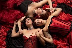 Rouge La Rue (austinspace) Tags: woman dancer model actress troupe trio burlesque spokane washington